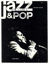 Jazz & Pop Magazine June 1968 Doors James Brown Marion Brown John Coltrane