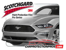 2018-2019 Ford Mustang GT 3M Pro Series Clear Bra Bumper Paint Protection Kit