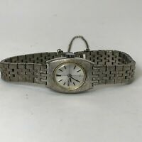 Read Seiko Womens 1N2500 Silver Stainless Steel Analog Wind Up Bracelet Watch