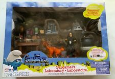 The Smurfs Escape From Gargamel's Laboratory Figures Adventure Pack Azrael Jakks
