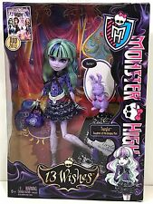 Monster High Doll 13 Wishes Twyla with Pet 1st Wave New in Box Retired