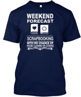 On trend Scrapbooking - Weekend Forecast With No Hanes Tagless Tee T-Shirt