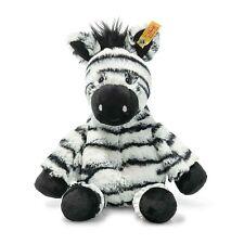 Steiff 069109 Kuscheltier Zebra Zora 30 cm sitzend schwarz Soft Cuddly Friends