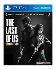 Ps4 Sony PlayStation 4 Game The Last of US Remastered En Ger Boxed