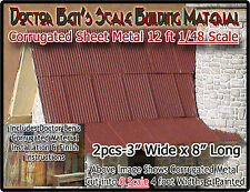 Doctor Ben's Corrugated Roofing/Siding Metal On3/On30/1;48