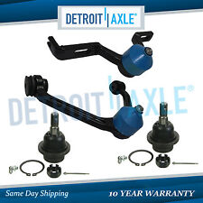 (4pc) New Front Upper Control Arm and Lower Ball Joint 1998-2011 Ford Ranger