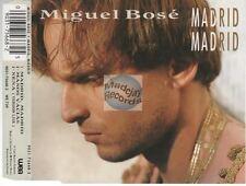 Miguel Bosé Madrid Madrid CD MAXI france french pressing