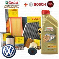 INSPEKTIONSKIT ™L CASTROL TITANIUM 5W40 5L 4 FILTER BOSCH VW PASSAT 3B3 1.9 TDI