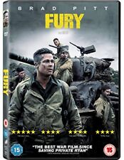 FURY - BRAD PITT - NEW / SEALED DVD - UK STOCK