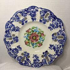 New ListingJay Willfred Andrea by Sadek Portugal Hand Painted Decorative Plate, 8.5� Vtg
