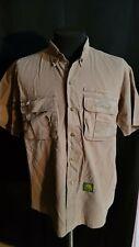 Shirt Camel Adventure Mens Shortsleeve Brown Size XL