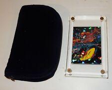 1992 Spiderman McFarlane Era Comic Images Hologram Card P-4 in Acrylic Ice Cube