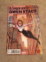 Edge of Spider-Verse #2 1st Spider Gwen Stacy Bug Variant [Marvel Comics, 2015]