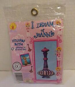 "Vintage 1997 Inflatable I Dream of Jeannie Bottle Costume Prop 17"" Halloween TV"