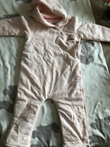 Ted baker baby girl snowsuit 12-18 months