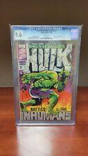 Incredible Hulk King Size Annual 1 CGC 9.6