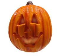 "Halloween 9"" Battery Operated LED Lighted Orange Pumpkin Decor"