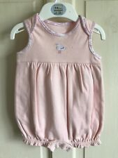 BNWOT M&S Sample Romper Suit/ Outfit. Girls. Age 0 - 3 Months. Pink/ Bird