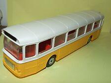 SAVIEM SC10U AUTOBUS BUS Orange & blanc NOREV 1:43 jouet des années 90
