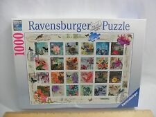NEW! SEALED! VINTAGE POSTAGE STAMPS RAVENSBURGER 1000 PIECE JIGSAW PUZZLE 2015