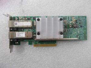 HP Ethernet 10Gb Dual-Port 530SFP+ PCI-e Adapter 652501-001 LP Bracket No SFPS