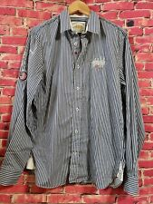Van Santen & Van Santen Polo Players Society Slimfit Man Button Down Shirt Sz XL