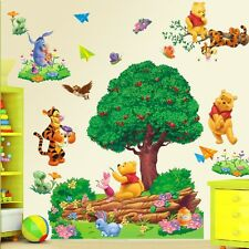 Winnie The Pooh Removable Wall Sticker Art Vinyl Decals Nursery Room Decor LZ#