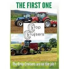 Crop Cruisers DVD 1 New /Tractors/Machinery/Farming/sale/combine harvesters/crop