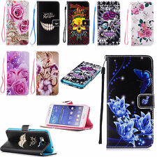 Flip Leather Card Pouch Wallet Accessories Case Cover For Huawei iphone Samsung