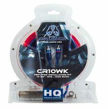 Crunch Kabelkit Anschlußset Kabelset Endstufe Amplifier Verstärker hochwertig