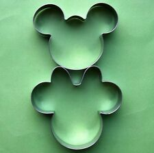 Mickey Minnie Mouse Cartoons Fondant Baking Biscuit Pastry Cookie Cutter Set