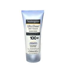Neutrogena Sunscreen SPF 100 Ultra Sheer Dry-Touch 3 oz.