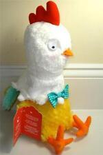 Hallmark Easter GOING BONKERS CHICKEN Plush Sound Motion Pecks Chicken Dance NWT