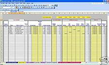 B&B or guest house non-VAT bookkeeping spreadsheet template for 2019 year ends