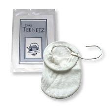 6 X Teenetz 7 Cm Teefilter Teesieb 100 Baumwolle