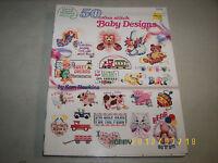 American School of Needlework 50 Cross Stitch Baby Designs #3556