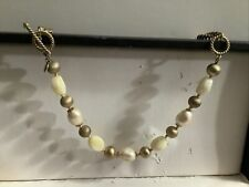 Chunky Gold & Beaded Necklace