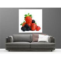 Cuadro tela decoración cuadrado fruta de los madera 56977195