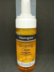 Neutrogena Soothing Clear Tumeric Mousse Cleaner Free shipping in USA!!!