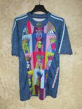 Maillot rugby Stade Français PARIS 2009 ADIDAS vintage away shirt collection S