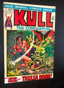 KULL THE CONQUEROR #3 (Marvel 1972) -- Bronze Age -- VF