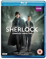 SHERLOCK - Season 2 BBC TV Series Complete Collection +Extras New HOLMES BluRay