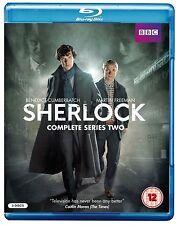 SHERLOCK BBC TV Series Complete Season 2 BluRay Collection+Extras New HOLMES