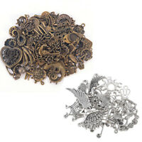 50g/Pack Retro Charms Pendants Mixed For Bracelet Jewelry DIY Making Accessories