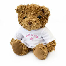 NEW - JAMIE-LEE - Teddy Bear - Cute And Cuddly - Gift Present Birthday Xmas