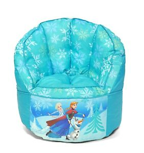 Disney Frozen Kids and Toddlers Sofa Bean Bag Chair MADE IN USA