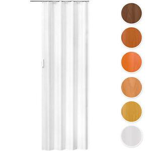 Puerta puertas plegables de plástico PVC  Puerta corredera 80 x 203 cm NUEVO