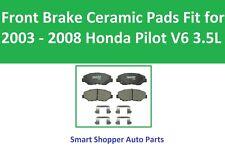 Front Brake Ceramic Pads Fit for 2003 2004 2005 2006 2007  2008 Honda Pilot