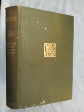 HONORE DE BALZAC.HOUSE OF CAT AND RACKET.PRIVATE LIFE.1896,B/W ILLS,CAXTON ED