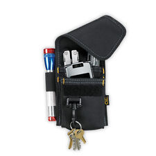 CLC 1104 - 4 POCKET MULTI-PURPOSE ACCESSORY ACCESSORIES TOOL HOLDER POUCH w/CLIP